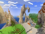 Stunning Beautiful Nature in Realmcraft Free Minecraft Style Game