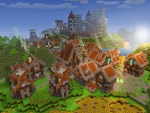 Adorable Village & Villagers in RealmCraft Free Minecraft Style Game