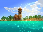 Blue Sky & Cool Bubbles - Missing Summer Time! in RealmCraft Free Minecraft Clone
