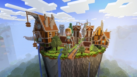 Magical Town, Wizard in Diamond Armor Only in Realmcraft Free Minecraft StyleGame - open world game, gaming, playgames, realmcraft, pixel games, mobile games, sandbox, free minecraft, games, free, action, game, minecrafters, pixel art, art, 3d building games, fun, pixel, adventure, building, 3d, minecraft