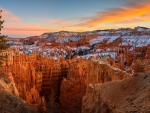 A Bryce Canyon Sunset