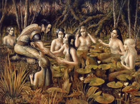 Tyris and the water nymphs