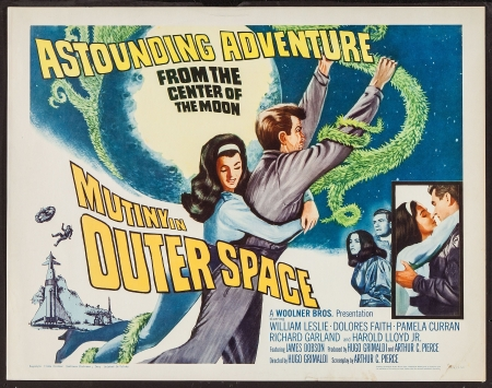 mutiny in outer space - mutiny, movie, outer, space, poster