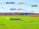 God's Ways-Thoughts Higher