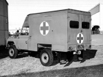 1963 land rover series 11A 109 gs 4x4 military ambulance