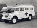 land rover series 2 military ambulance