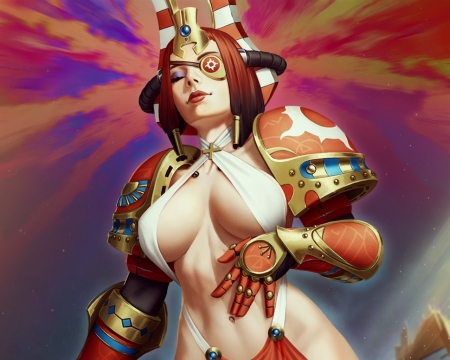War40k Female Marine - female, marine, war40k, hot, ecchi