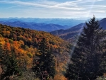 There is a reason they are called the Blue Ridge Mountains