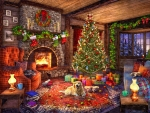 Cozy Cabin Christmas