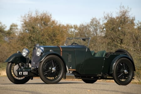 1929 Aston Martin Roadster - cars, antique, aston martin, 1929