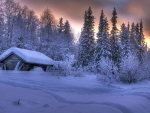 Finland Winter Houses