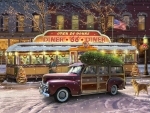 Christmas Diner on Route 66