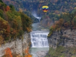 The Middle Falls At Letchworth State Park, NY