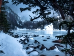 Winter wonderland in Rocky Mountain National Park, Colorado
