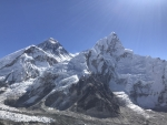 Everest and the Khumbu Glacier from Everest Base Camp