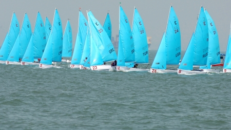 sailboat race - race, sailboat, ocean, sail