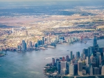 Lower Manhattan and New Jersey