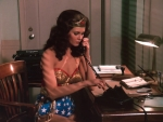 Wonder Woman on the Phone 3