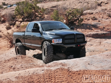 Dodge Ram 2500 2005 - thrill, 4x4, offroad, crawler