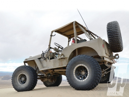 Jeep Willys - thrill, 4x4, offroad, crawler