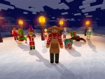 Christmas Clothes & Skins for Everyone: Trader and Animal in Realmcraft Free Minecraft Clone