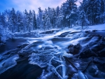 Cold Flow, Ringerike, Norway