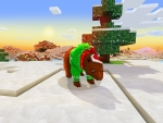 Cute Brown Bear �� Christmas Event in Realmcraft Free Minecraft StyleGame