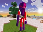 Cutie Nightcrawler in Santa's Suit - New Outfits in Realmcraft Free Minecraft Style Game