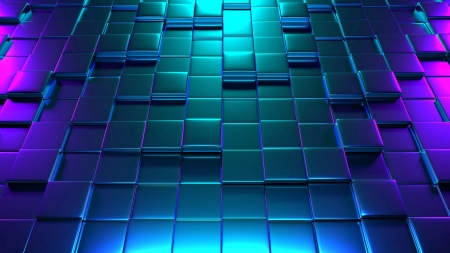 Cubes Structure Rendering Highlighting - structure, cubes, abstract, 3d abstract, 3d