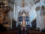 Church in Krakow, Poland