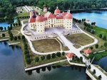 Moritzburg Castle in Germany