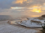 Winter Beach in Latvia