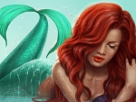 Redhair Mermaid