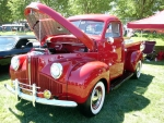1948 Red Studebaker M5 Pick Up Truck