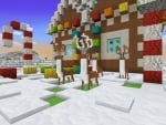 Cute Deers Keep Santa's House Safe in Realmcraft Free Minecraft Style Game