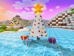 Pretty Christmas Tree, Best Gifts - Celebrate Winter Event in Realmcraft Free Minecraft Clone