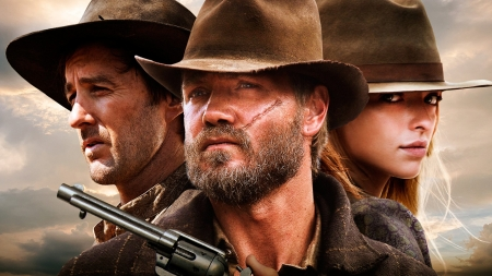 Outlaws and Angel - eastwood, murray, movie, actors
