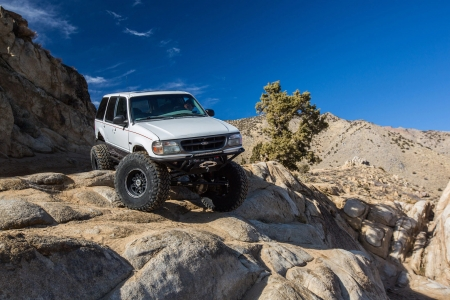 Ford Expolrer 1996 - thrill, 4x4, offroad, crawler