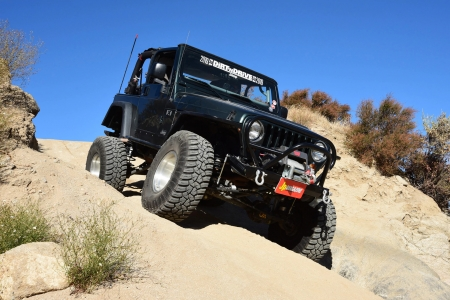 Jeep Wrangler TJ 2003 - thrill, 4x4, offroad, crawler