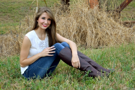 Ranch Life - brunettes, boots, ranch, cowgirls