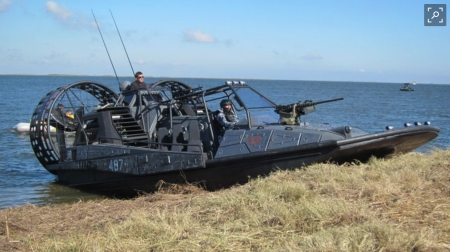 military assault craft - fanboat, military, craft, assault