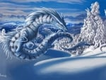 Snow dragon