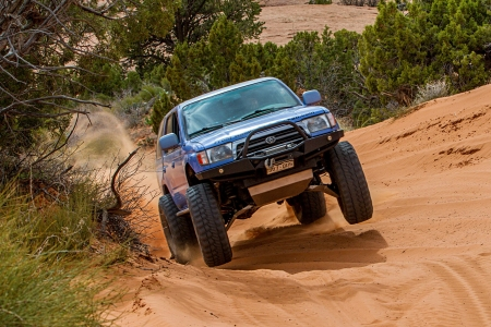 Toyota 4runner 1996 - race, thrill, 4x4, offroad