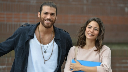 Erkenci Kus ( 2019 ) - can, actor, demet ozdemir, sanem, man, erkenci kus, can yaman, actress, girl, turkish, tv series, couple