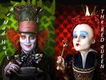 Mad Hatter and Red Queen