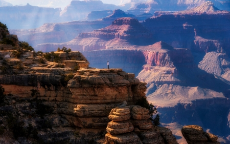 Grand Canyon, Arizona, USA - nature, America, cliffs, Grand Canyon