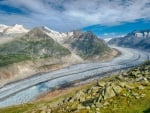 Aletsch Glacier, Swiss Alps