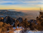 Sunset from Sandia Crest, New Mexico