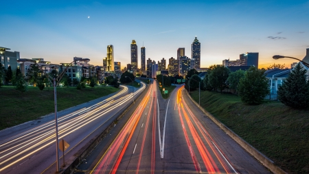 Atlanta Long Exposure