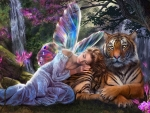 Tiger and Fairy
